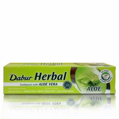 Dentifricio ayurvedico Dabur all' Aloe Vera