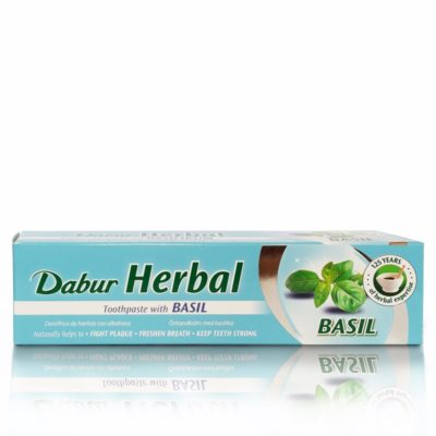 Dentifricio ayurvedico Dabur al Basil